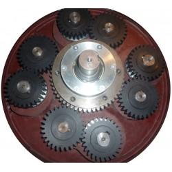 4x1000ml Gear-Drive 4-Liter Planetary Ball Mill