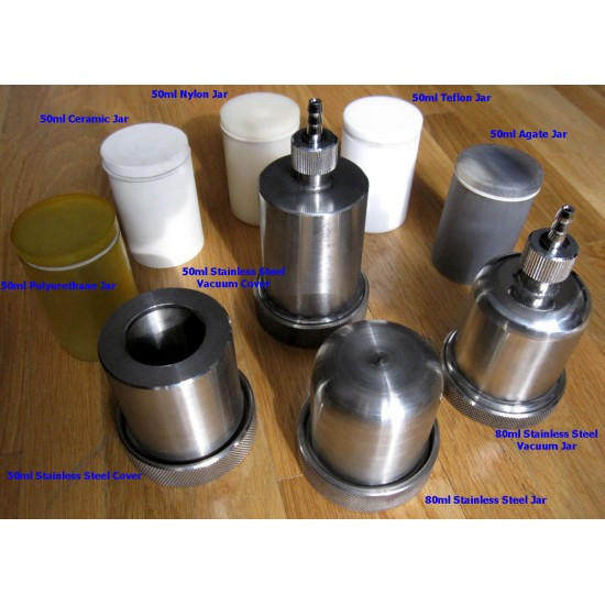 Високоенергетичний вібраційний млин 80 мл VQ-N