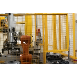 Automatic line for installation and testing PKW clutches