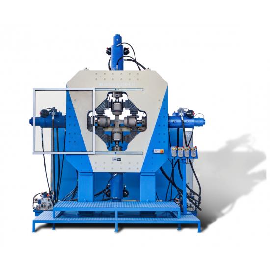 Н.11 - Динамічні сервогідравлічні двоосьові випробувальні машини до 500 кН