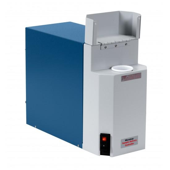 Пристрій для диспергування суспензії в поєднанні з лазерними дифракційними системами