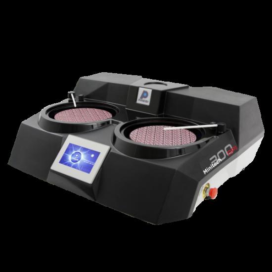 Ручна дводискова шліфувально-полірувальна машина MINITECH 300 DP1