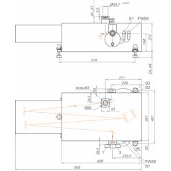 Монохроматор-спектрограф серії MS750