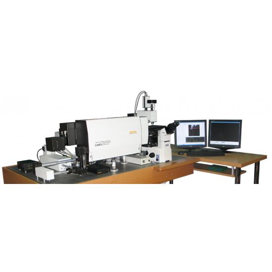 3D Скануючий Лазерний мікроскоп-спектрометр Confotec CARS
