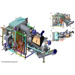Furnaces - utilizers of solid waste GAZDRIM