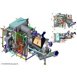 Піч - утилізатор для сміття (ТПВ, RDF) 300 КВТ - 6 МВт